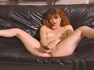 This Horn-mad Redhead Has Unqualifiedly Sensitive Nipples. She Sits On