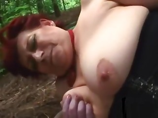 Busty Milf Pounded With Smarting Dick