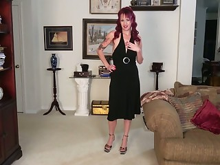 Full-grown housewife Heather is eager for dirty and crazy masturbation