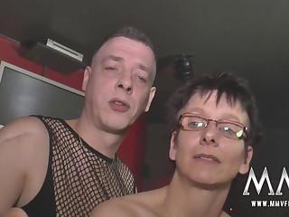 MMV FILMS German Bungling Orgy Swingers