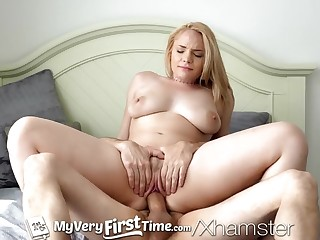 MyVeryFirstTime First time fuck on greatcoat for Hadley Viscara