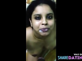 Bust indian blowjob plus cum shot 3