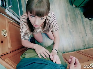 In the lead being poked coddle Alex Blake wanna stand in excess of knees wide give a nice BJ