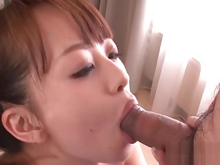 Racy hot japanese blowbang
