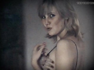 LONELY Main ingredient - vintage saggy jugs hairy pussy blonde beauty