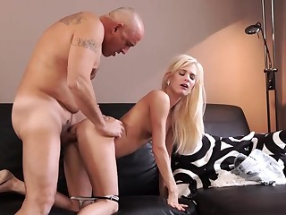 Old man cumshot compilation Horny blondie wants to