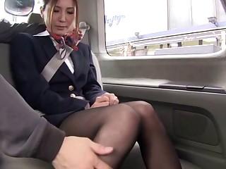 Handsome Japanese porn assume command of Yuuna Shiina moans during fucking